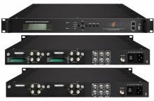 Приемници (сателитни,кабелни,наземни тунери) и конвертори на TS, Професионален модулен приемник-модулатор NDS3542D
