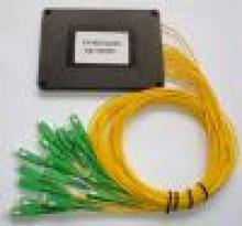 Оптични сплитери, Оптичен PLC сплитер 1:8, с SC/APC конектори