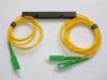 Оптични сплитери, Оптичен PLC сплитер 1:2, с SC/APC конектори