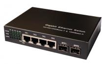 switch media 2x10/100/1000Ethernet+ 2x1.25Gbps SFP