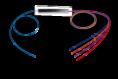 Оптични сплитери, Оптичен PLC сплитер 1:2, без конектори